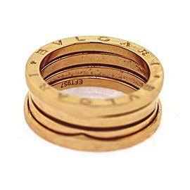 """Bulgari """" B.zero1"""" 18k Rose Gold Ring Size 7.75"""