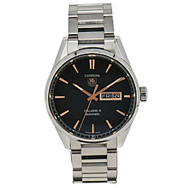 TAG Heuer CARRERA WAR201C-0 Calibre 5 Day-Date Automatic Mens Watch