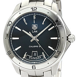 TAG HEUER Link Calibre 5 Day Steel Automatic Watch WAT2010