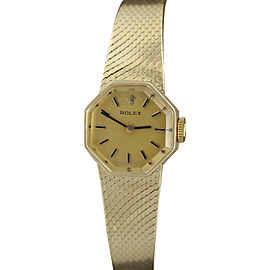 Rolex 8385 Vintage 17mm Womens Dress Bracelet Watch