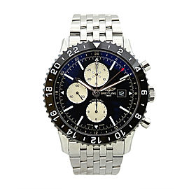 Breitling Chronoliner Y2431012/BE10 Stainless Steel Black Dial Automatic 46mm Mens Watch