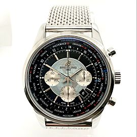 BREITLING TRANS OCEAN Chronograph Automatic Stainless Steel Watch