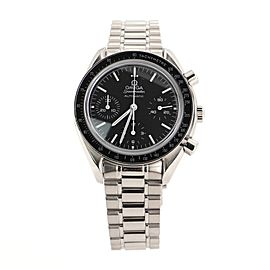 Omega Speedmaster Reduced Chronograph Automatic Watch Stainless Steel 37