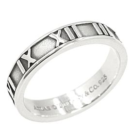 TIFFANY & CO 925 silver Atlas Narrowing Ring