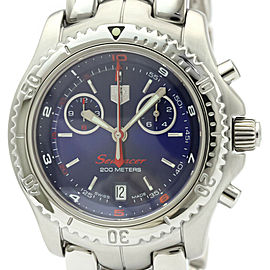 TAG HEUER Link Searacer Chronograph Steel Quartz Watch CT1115