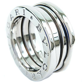 BVLGARI 18k white gold Bzero1 Ring