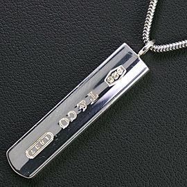 TIFFANY & Co Silver925 bar Necklace