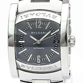BVLGARI Assioma Steel Automatic Mens Watch AA44S BF508646