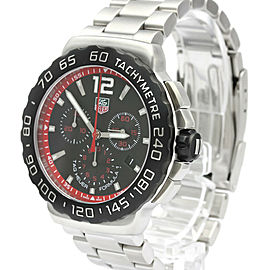 TAG HEUER Formula 1 Chronograph Steel Quartz Watch CAU1116