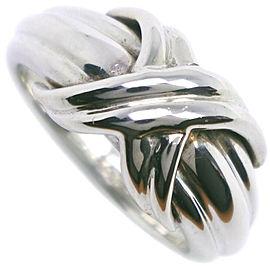 TIFFANY & Co. Silver Signature Ring