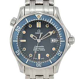 OMEGA Seamaster300 2561.80 Stainless steel Blue Dial Quartz Watch