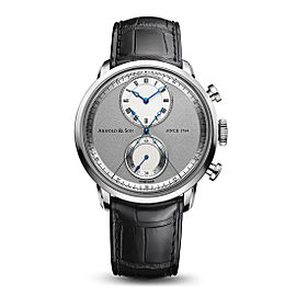 Arnold & Son CTB Steel 1CHAS.S02A 44mm Mens Watch