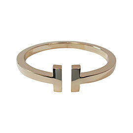 Tiffany & Co. 18K Rose Gold T Square Bracelet
