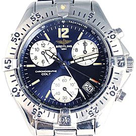 Breitling Colt Chronograph Stainless Steel Quartz 41mm Mens Watch