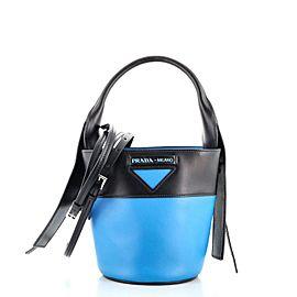 Prada Ouverture Bucket Bag Leather