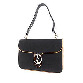 1973 Nubuck Leather Shoulder Bag