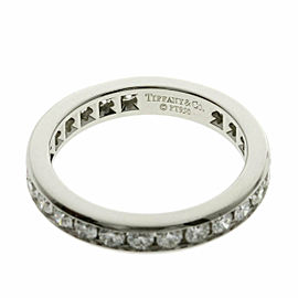 TIFFANY & Co. diamond Platinum Full circle eternity Ring