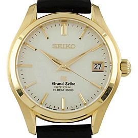 Seiko Grand Seiko SBGH020 / 9S85 00H0 38mm Mens Watch