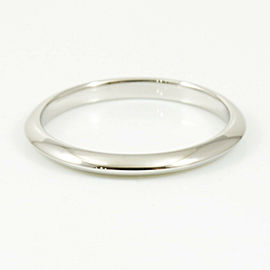 Tiffany & Co. Platinum Wedding Band Ring CHAT-198