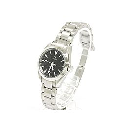 Omega Seamaster Aqua Terra Stainless Steel Quartz 29mm Womens Watch