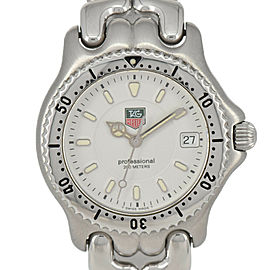 TAG HEUER S/el Professional 200 m WG1212-K0 White Dial Boy's