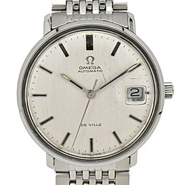 OMEGA Vintage Deville Silver Dial TOOL 106 Automatic Men's Watch