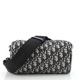 Christian Dior Roller Messenger Bag Oblique Canvas