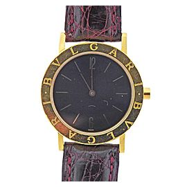 Bulgari Gold Watch BB 33 GL