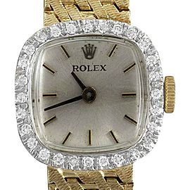 Rolex 8366 Vintage 17mm Womens Dress Watch