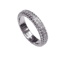 Scott Kay Platinum with 0.53ctw Diamond Band Ring Size 6.5