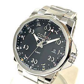 CORUM 383.330.20/V701 Stainless Steel Admiral's Cup GMT Wrist watch