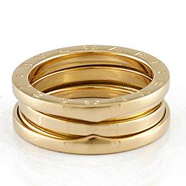 BVLGARI 18K yellow Gold B-zero.1 B-zero One 3 Bundling Ring