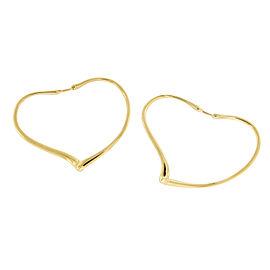 Tiffany & Co. Elsa Peretti 18K Yellow Gold Earrings