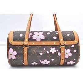 Louis Vuitton Monogram Cherry Blossom Papillon Hand Bag M92009 LV 98532