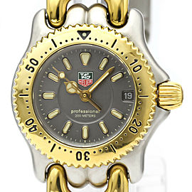 TAG HEUER Stainless steel/Gold plated Sel Professional 200M Watch