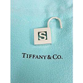 Tiffany & Co. Sterling Silver Alphabet S Padlock Pendant