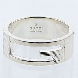 GUCCI Silver925 Branded G Ring TBRK-397