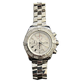 Breitling Super Avenger A1337011/A660 Stainless Steel 48mm Automatic Mens Watch