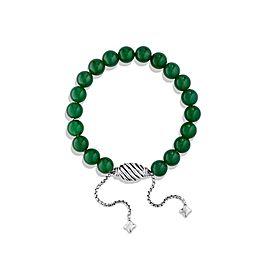 David Yurman Spiritual Bead Bracelet with Green Onyx