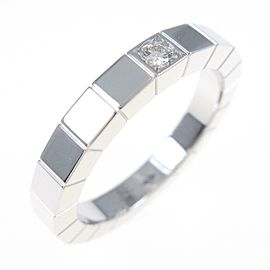 Cartier 18K White Gold Lanieres 1P ring TkM-259