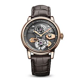 Arnold & Son TES Gold Sapphire Tourbillon 1SJAR.V01A 44 mm Mens Watch