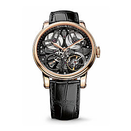 Arnold & Son TB88 Gold Black Ruthenium Mvt 1TBAR.B01A 46 mm Mens Watch