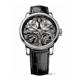 Arnold & Son TB88 Steel NAC Grey Treated Mvt 1TBAS.B01A 46 mm Mens Watch