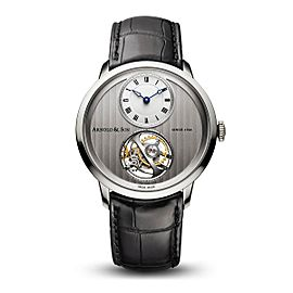 Arnold & Son UTTE Palladium Silver Dial 1UTAG.S03A 42mm Mens Watch