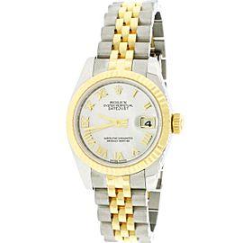 Rolex Datejust Ladies 26mm 2-Tone Factory MOP Dial Watch 179173