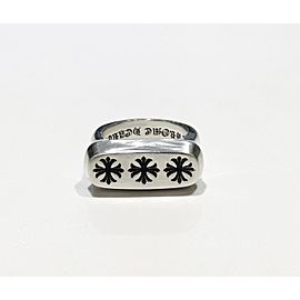 Chrome Hearts Sterling Silver Ring Size 7.5