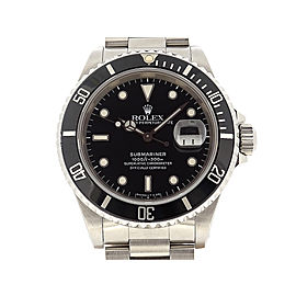 Rolex Submariner Date Tritium 16610(L) 40mm Mens Watch