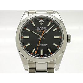 Rolex Milgaus 116400(V) 40mm Mens Watch