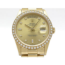 Rolex Day-Date 18348A(W) 36mm Mens Watch