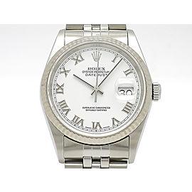 Rolex Datejust 16234(K) 35mm Mens Watch